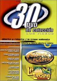 Alberto Y Roberto / La Tropa Vallenata: 30 DVD De Coleccion Movie