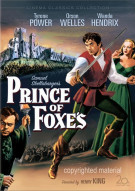 Prince Of Foxes Movie
