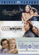 Romeo & Juliet / Love Story / Falling In Love (Triple Feature) Movie