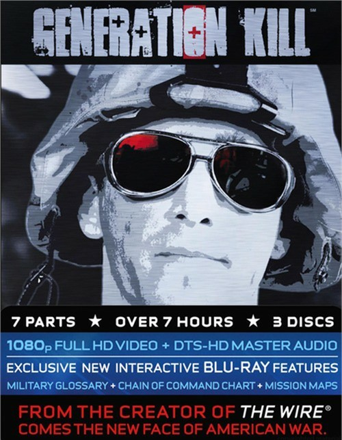 Generation Kill Blu-ray