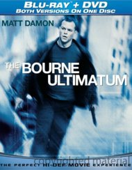 Bourne Ultimatum, The (DVD & Blu-ray Combo) Blu-ray