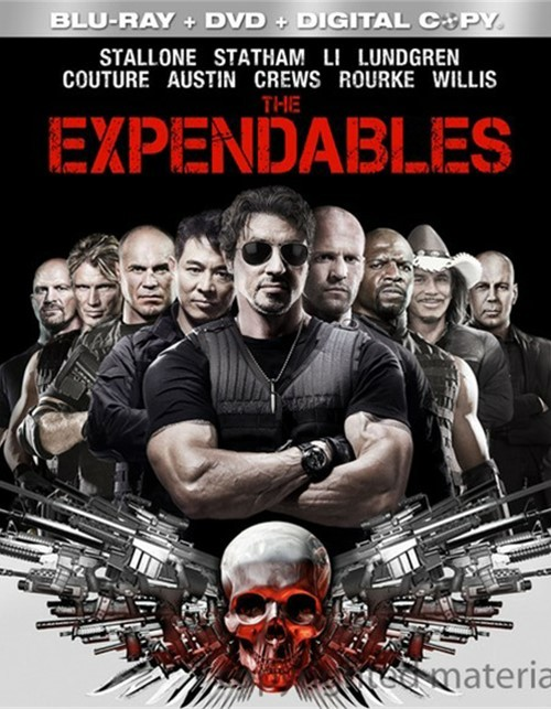 Expendables, The (Blu-ray + DVD + Digital Copy) Blu-ray