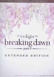 Twilight Saga, The: Breaking Dawn - Part 1 - Extended Edition (DVD + Digital Copy + UltraViolet) Movie