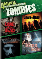 4-Movie Midnight Marathon Pack: Zombies Movie