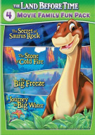 Land Before Time, The: 4 Movie Family Fun Pack Movie