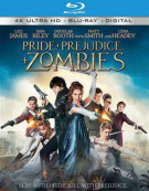 Pride And Prejudice And Zombies (4K Ultra HD + Blu-ray + UltraViolet) Blu-ray