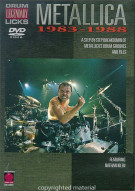 Drum Legendary Licks: Metallica - 1983-1988 Movie