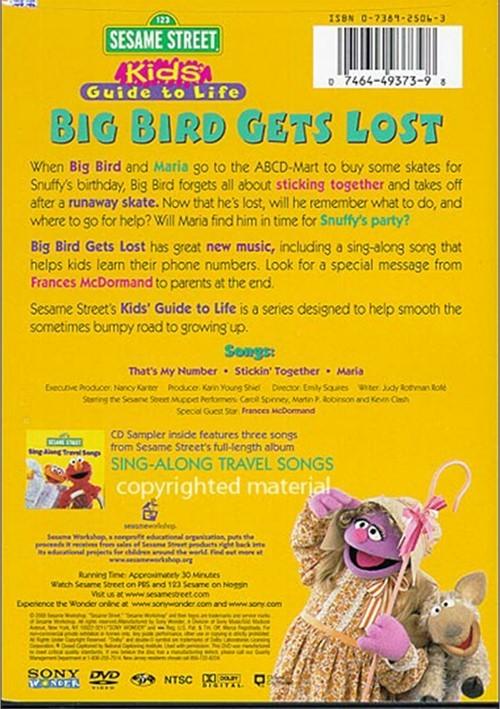 Sesame street big bird gets lost video