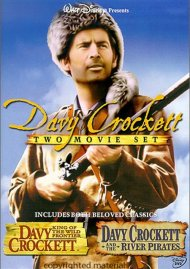 Davy Crockett 50th Anniversary Double Feature Movie