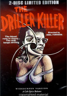 Driller Killer, The: 2 Disc Limited Edition Movie