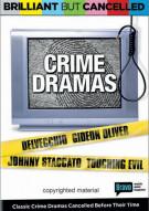 Brilliant But Cancelled: Crime Dramas