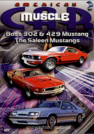 American Muscle Car: Boss 302 & 429 Mustang / The Saleen Mustangs