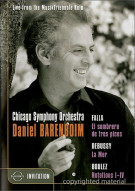 Falla / Debussy / Boulez: Chicago Symphony Orchestra & Daniel Barenboim