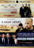 Knockaround Guys / A Man Apart / Boiler Room (Triple Feature)