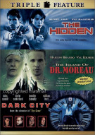 Hidden, The / Island Of Dr. Moreau, The / Dark City (Triple Feature)