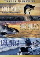 Free Willy / Free Willy 2 / Free Willy 3 (Triple Feature)