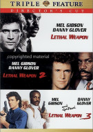 Lethal Weapon / Lethal Weapon 2 / Lethal Weapon 3: Directors Cut (Triple Feature)