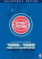 Detroit Pistons 1988 - 1989 NBA Champions: Motor City Madness