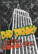 Bad Brains: Live CBGB 1982