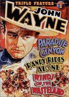 John Wayne Triple Feature: Volume 2