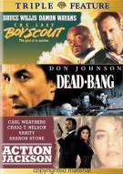 Last Boy Scout, The / Dead-Bang / Action Jackson (Triple Feature)