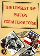 Veterans Day 3 Pack: The Longest Day/ Patton/ Tora! Tora! Tora!
