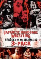 Japanese Hardcore Wrestling: Hardest Of The Hardcore 3 Pack