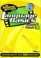 Language Basics: Spanish 1 & French 1: The Standard Deviants