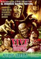 Five Bloody Graves / Nurse Sherri (Double Feature)
