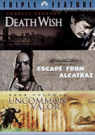 Death Wish / Escape From Alcatraz / Uncommon Valor (Triple Feature)