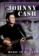 Johnny Cash: Music In Review Book / DVD Set