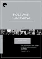 Postwar Kurosawa: Eclipse From The Criterion Collection