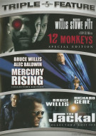 12 Monkeys / Mercury Rising / The Jackal (Triple Feature)