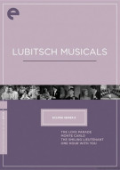 Lubitsch Musicals: Eclipse From The Criterion Collection