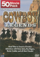 Cowboy Legends: 50 Movie Pack