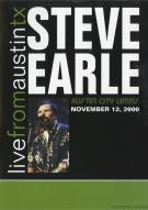 Steve Earle: Live From Austin, TX - November 12, 2000