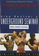 Mike Mentzers Underground Seminar Bodybuilding