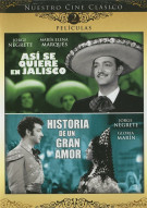 Asi Se Quiere En Jalisco / Historia De Un Gran Amor (Double Feature)