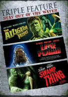 Alligator People / Lake Placid / Swamp Thing (Triple Feature)