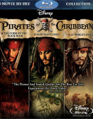 Pirates Of The Caribbean: 3 Movie Collection