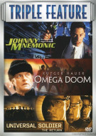 Johnny Mnemonic / Omega Doom / Universal Soldier: The Return (Triple Feature)