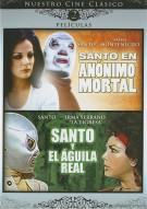 Santo En Anonimo Mortal / Santo Y El Aguila Real (Double Feature)