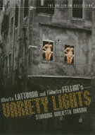 Variety Lights: The Criterion Collection