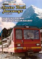 Swiss Rail Journeys: Volume 1