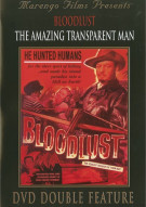 Bloodlust/ Amazing Transparent Man (Double Feature)