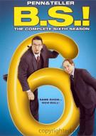 Penn & Teller: BS! The Complete Season 6 - Censored