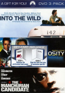 Into The Wild / Virtuosity / Manchurian Candidate (3 Pack)
