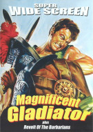 Magnificent Gladiator / Revolt Of The Barbarians (Double Feature)