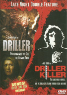 Driller/ Driller Killer (Double Feature)