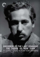 3 Silent Classics By Josef Von Sternberg: The Criterion Collection